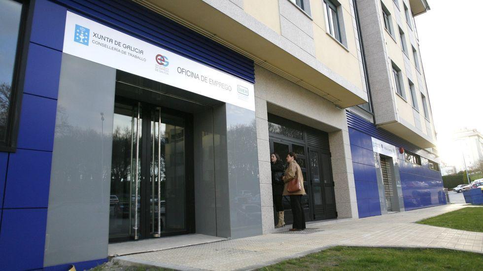 Así es el molino de Don Álvaro.Imagen de archivo de una oficina de empleo de Lugo