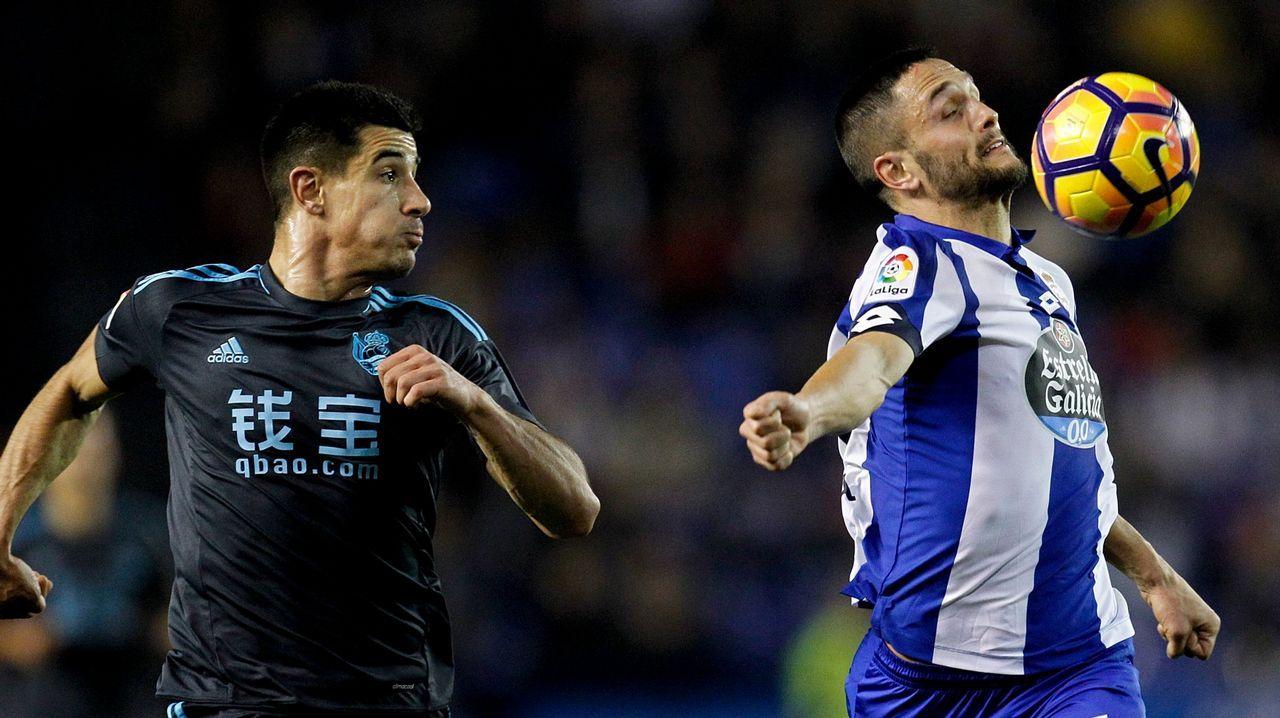 La trayectoria de Mauro Silva en el Deportivo