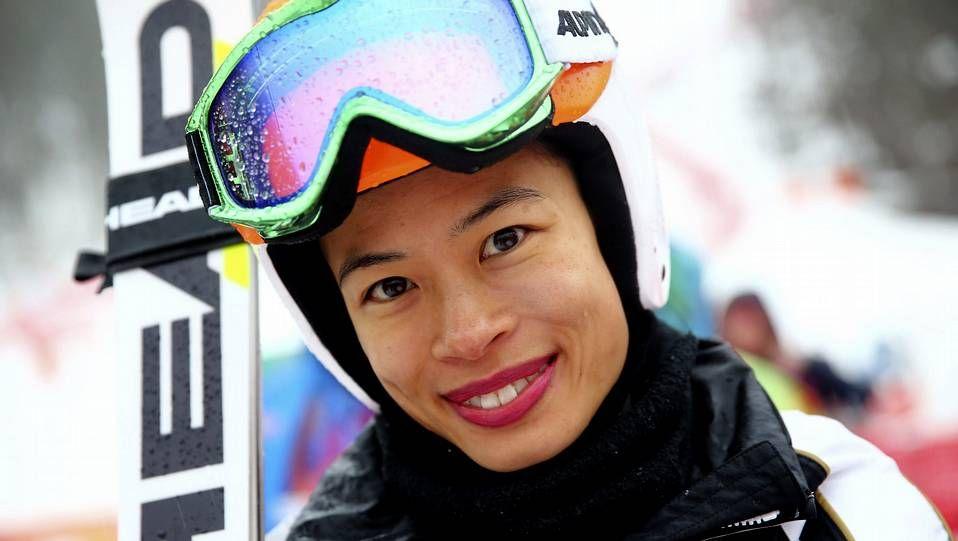 Vanessa Mae, en Sochi