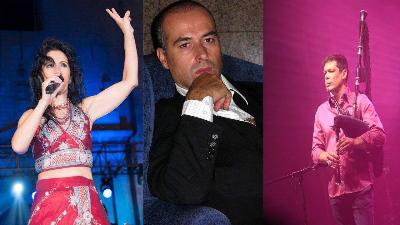 Cristina del Valle, Alberto Comesaña y José Ángel Hevia