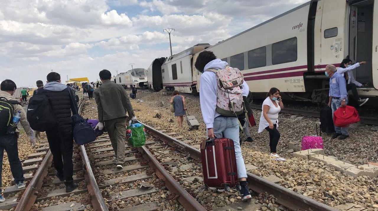 Descarrila en Zamora el tren Galicia-Madrid