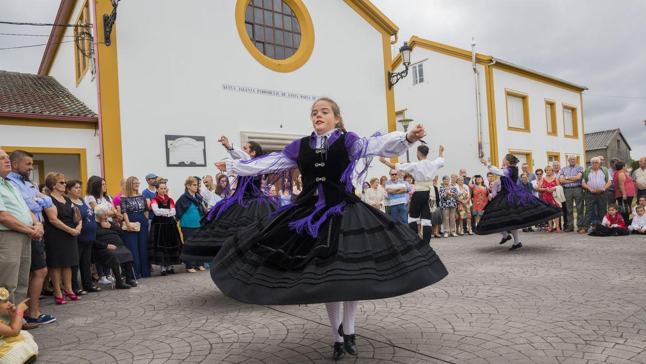 Castromil celebró su San Ramón con una jornada de tradición