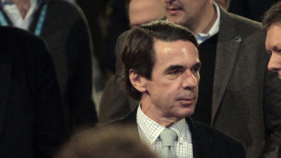 Aznar advierte a Rajoy que el secesionismo va a más y con más fuerza