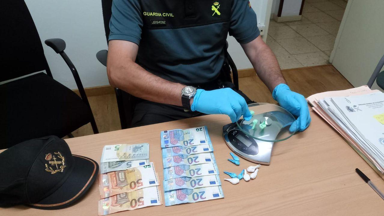 Así efectuaban los robos en bares de Pontevedra y A Coruña