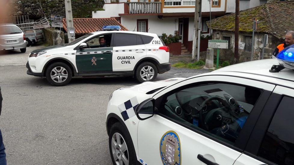 En la búsqueda, dirigida por la Guardia Civil, colabora también la Policía Local de Chantada