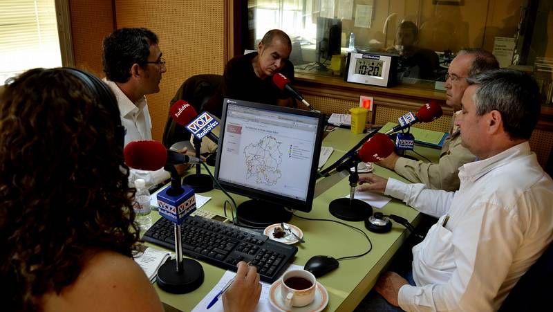 El martes comenzó la tertulia futbolística de «La Voz del Deporte».