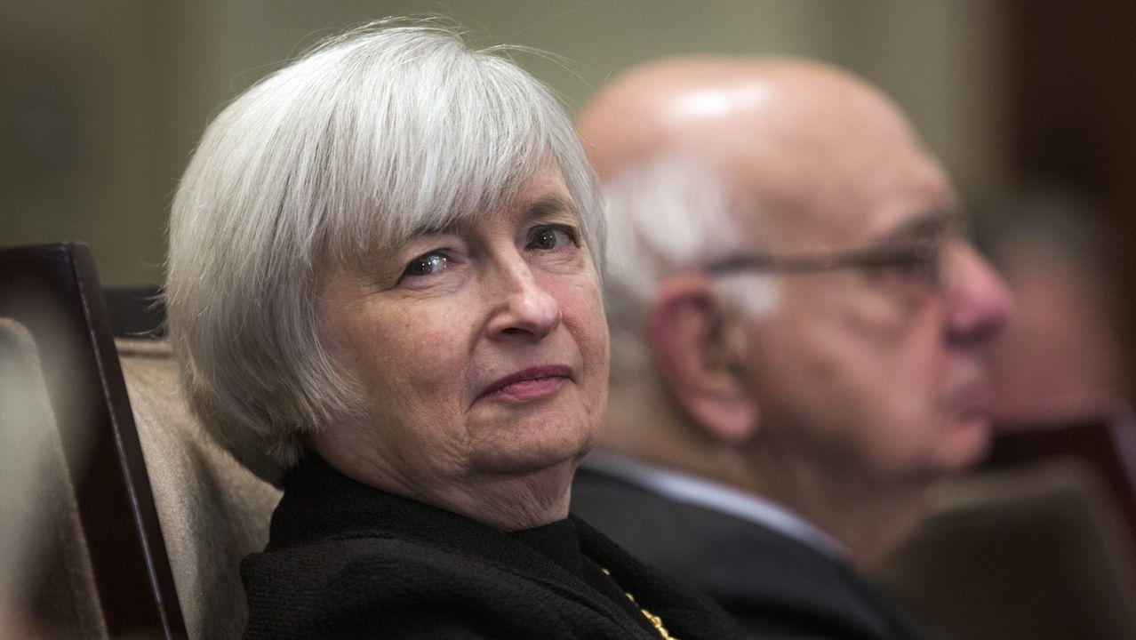Janet Yellen, en su etapa de vicepresidenta de la Reserva Federal de EE.UU.