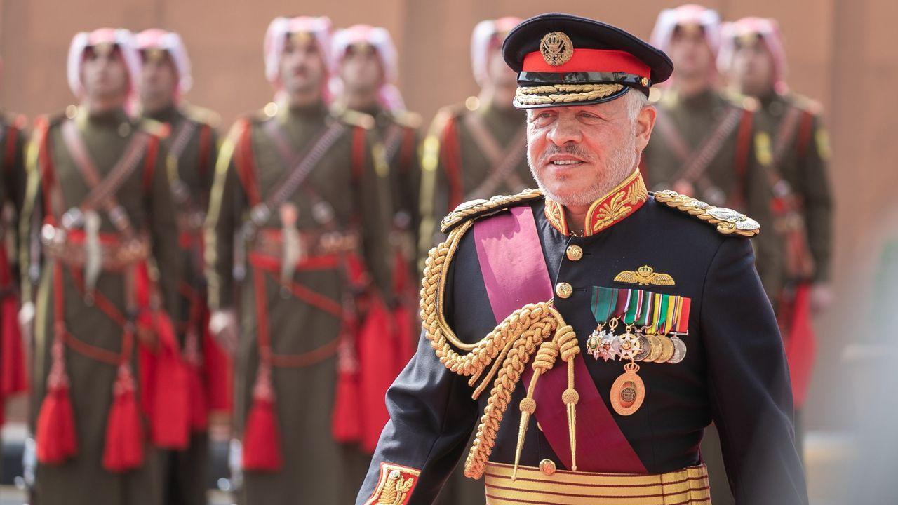 El rey Abdalá de Jordania