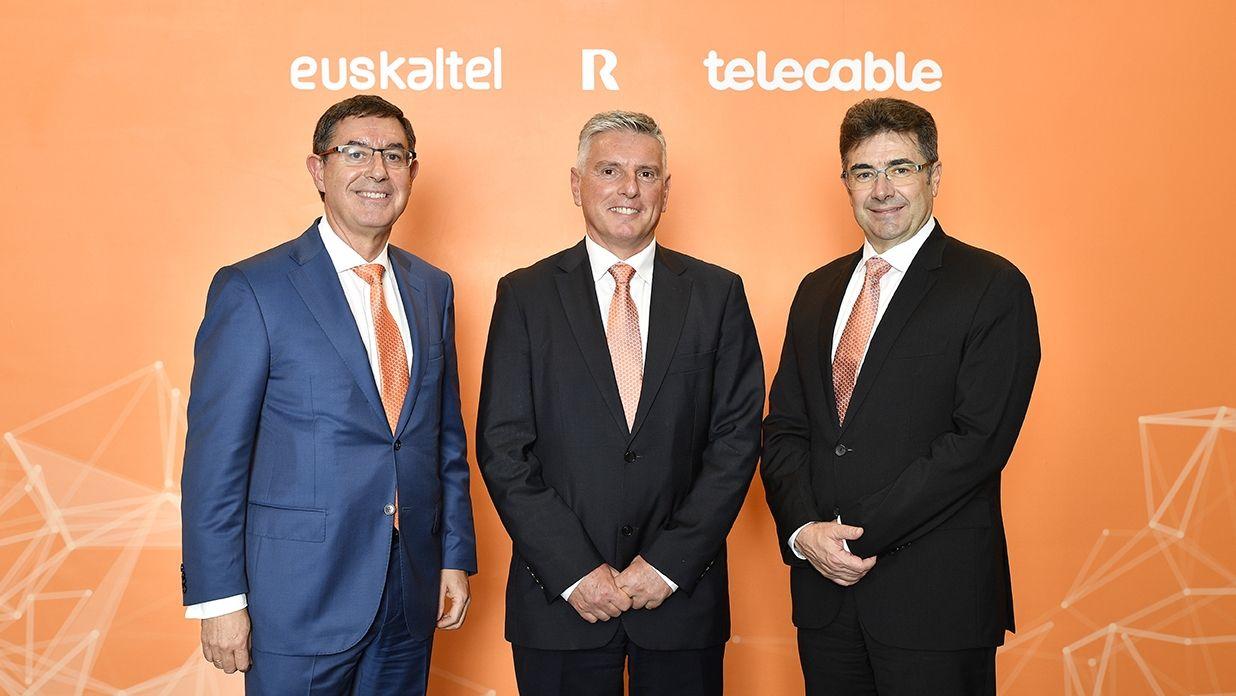 Alberto García, Xabier Gotzon Iturbe Otaegi y José Miguel García