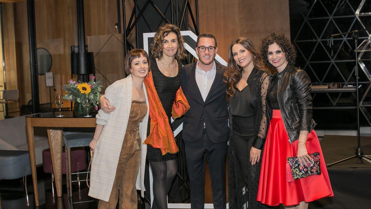 Presentación en Oviedo del Tour Universo Mujer