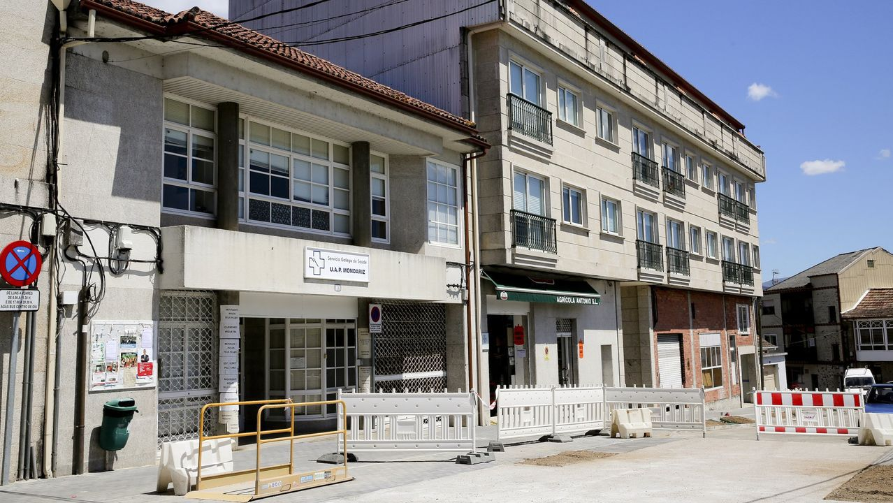 Filomena también se deja notar en Vigo.Centro de Sarria
