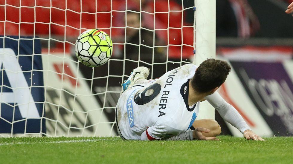 «Hay que sacar esto por la historia del club».Manuel Pablo, contra el Real Madrid en el último partido de Liga