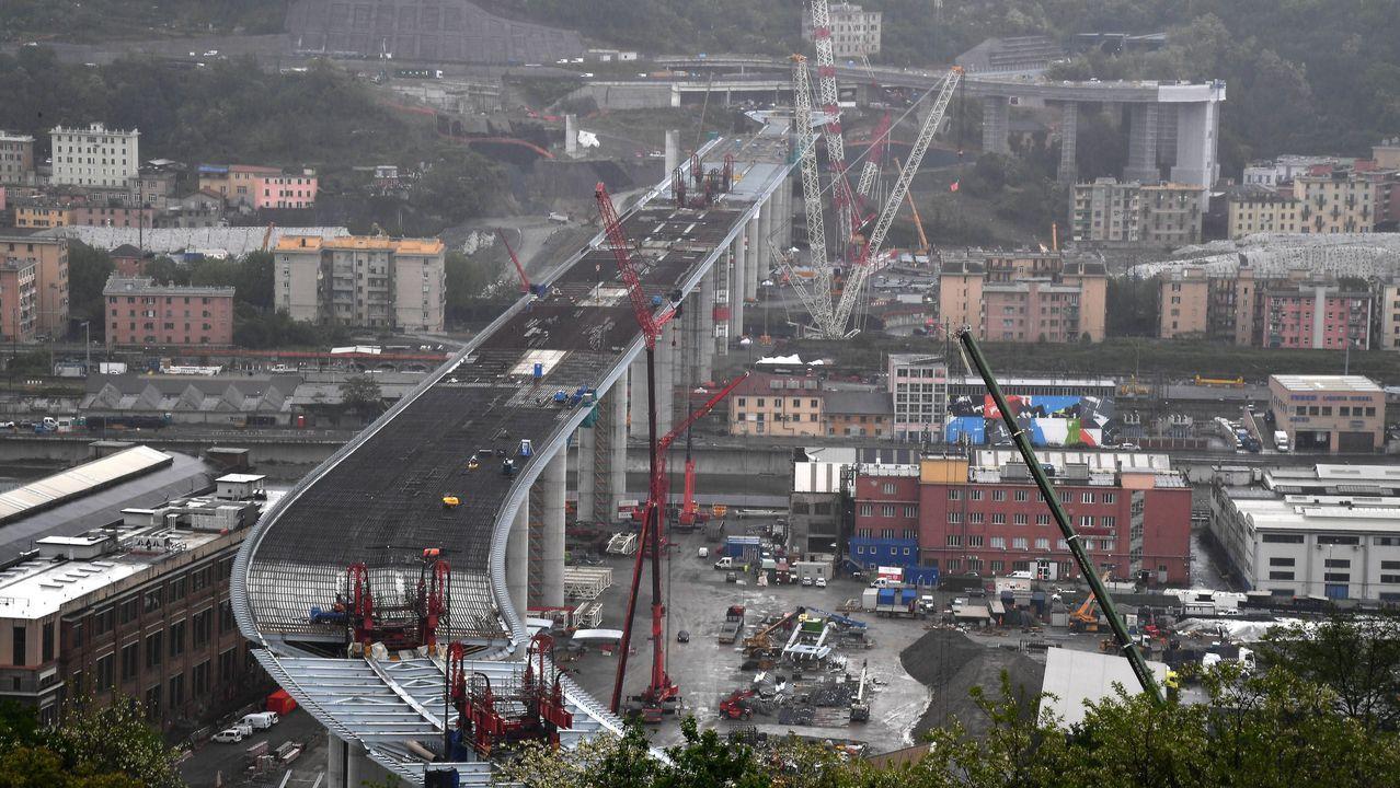 El puente tiene más de un kilómetro de longitud, 67.000 metros cúbicos de hormigón y 24.000 toneladas de acero y carpintería metálica, el equivalente al peso de tres torres Eiffel