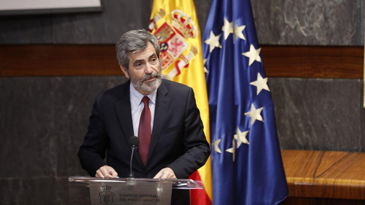 | EFE.Si el presidente catalán Quim Torra quiere presenciar el juicio por el 1-O contará con trato preferente «como cualquier autoridad pública española», afirmó ayer el presidente del Tribunal Supremo, Carlos Lesmes.
