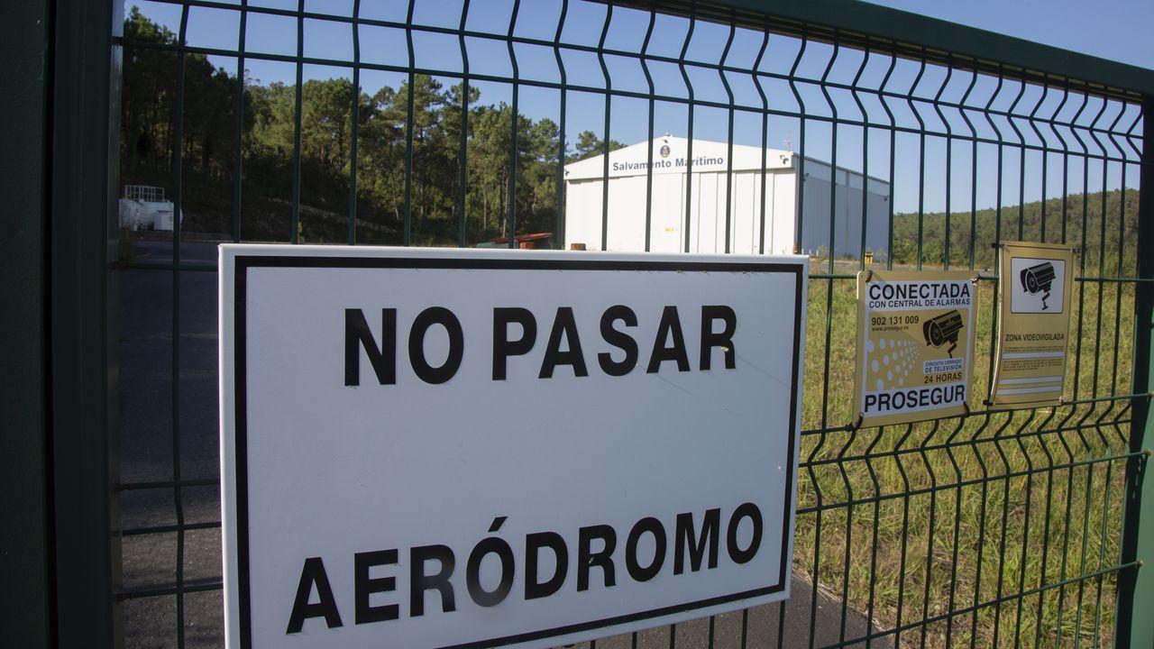 Acto de homenaje a los tripulantes de La Isla.Un dron desarrollado por el Instituto Tecnológico de Galicia, en una imagen del pasado enero