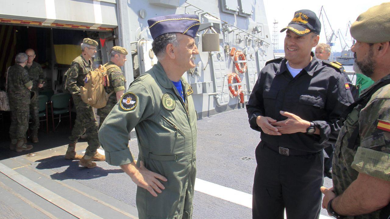 Saludo al Almirante del Arsenal Antonio Duelo Menor