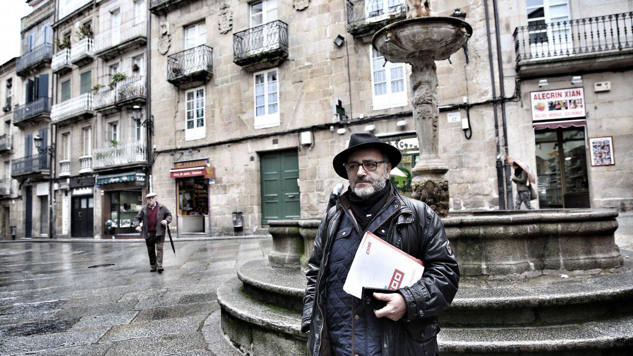 Florentino Delgado, en una foto de archivo