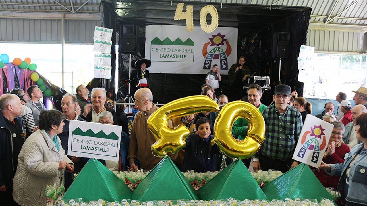 40 aniversario Centro Laboral Lamastelle-Aspronaga