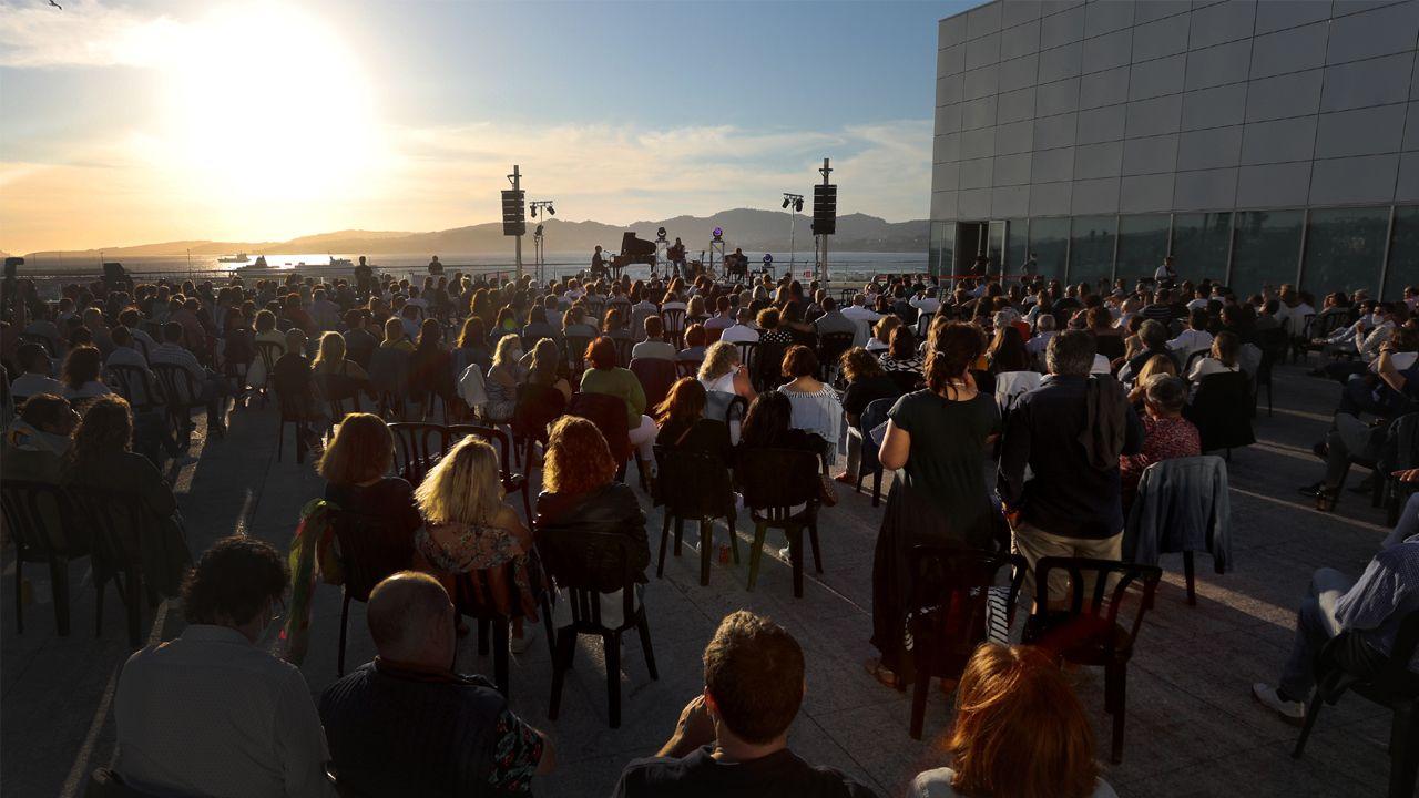 Terraza del Auditorio Mar de Vigo