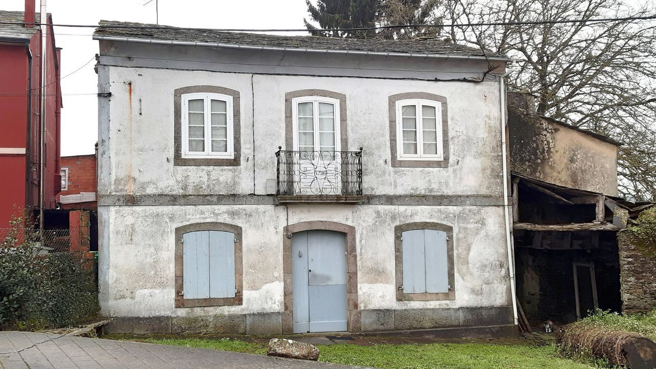 Fachada da casa construída por Vicente Peña na rúa do Rolo a finais do século XIX