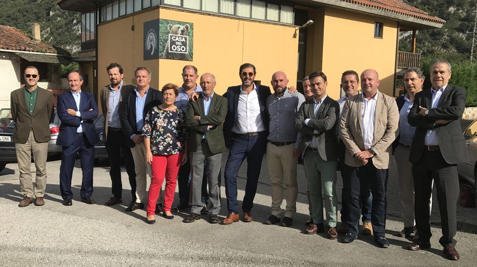 El consejo ejecutivo de la Federación Asturiana de Empresarios (Fade).El consejo ejecutivo de la Federación Asturiana de Empresarios (Fade)