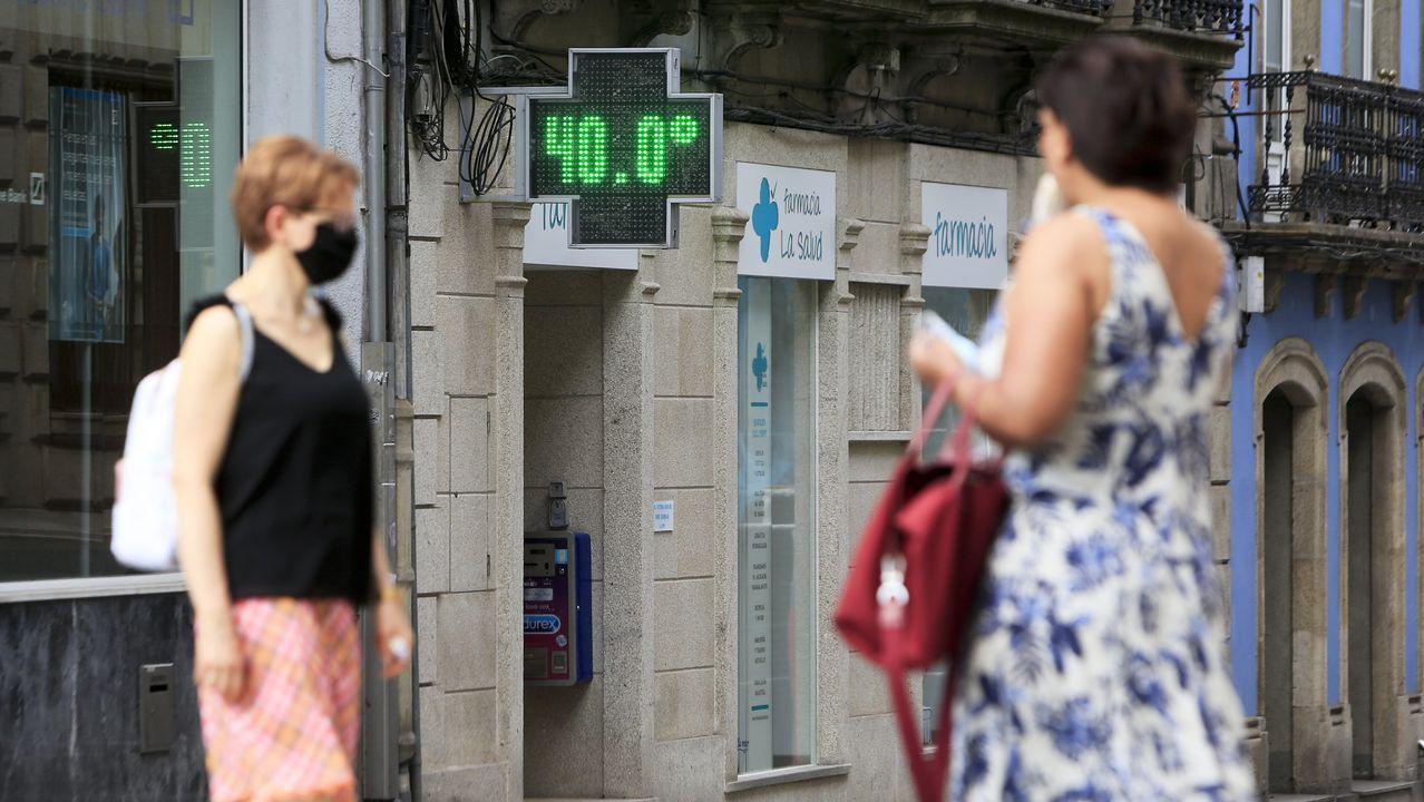 Los termómetros de las farmacias alcanzaron los 40 grados