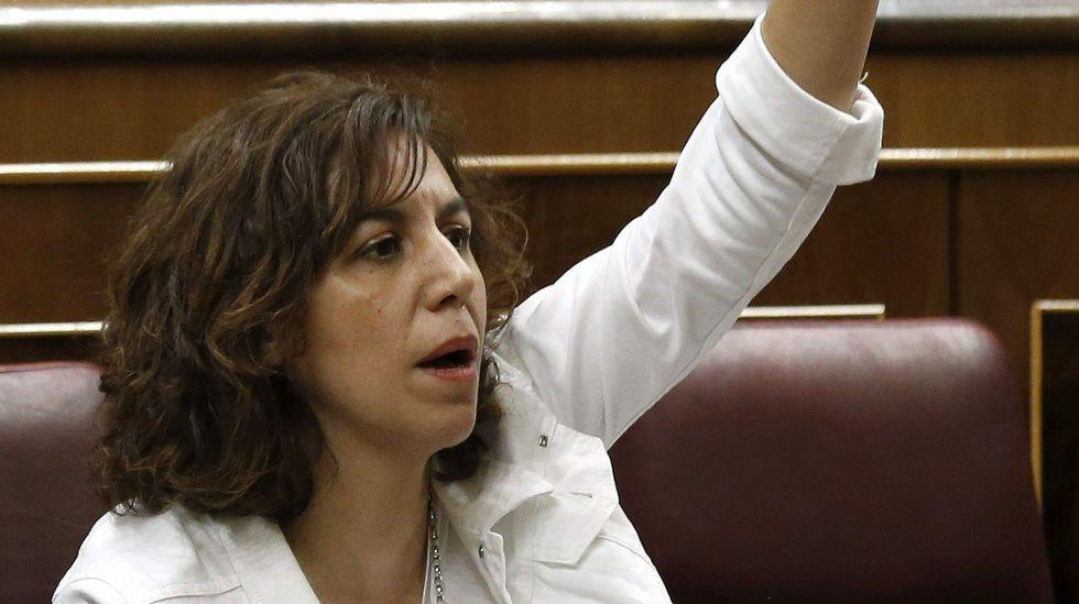 Susana Díaz.Cantó moderó sus críticas a Rosa Díez y se mostró «ilusionado» con la reunión de hoy.