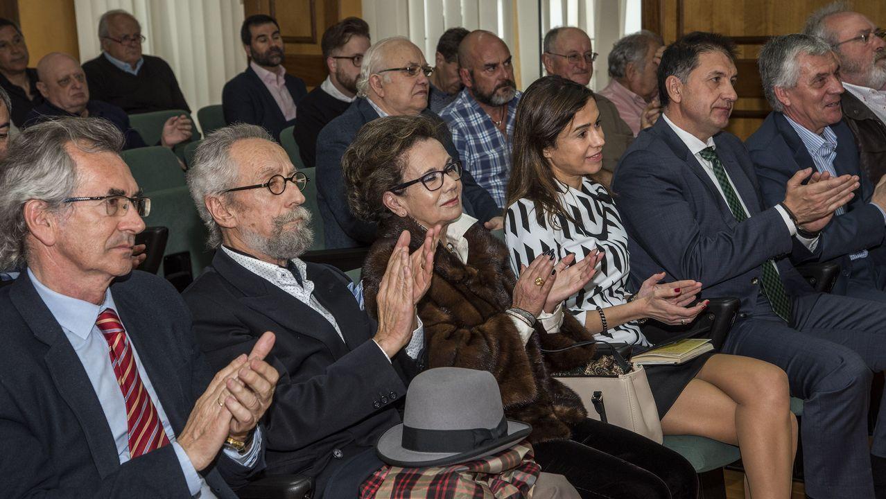 El premio Monforte al Ferrocarril recae por vez primera en una mujer.Presentación del torneo de pádel de Adarsa