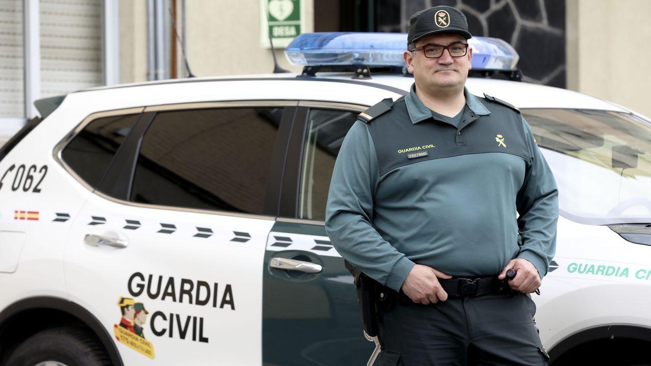 Víctor Castro, miembro de la Guardia Civil