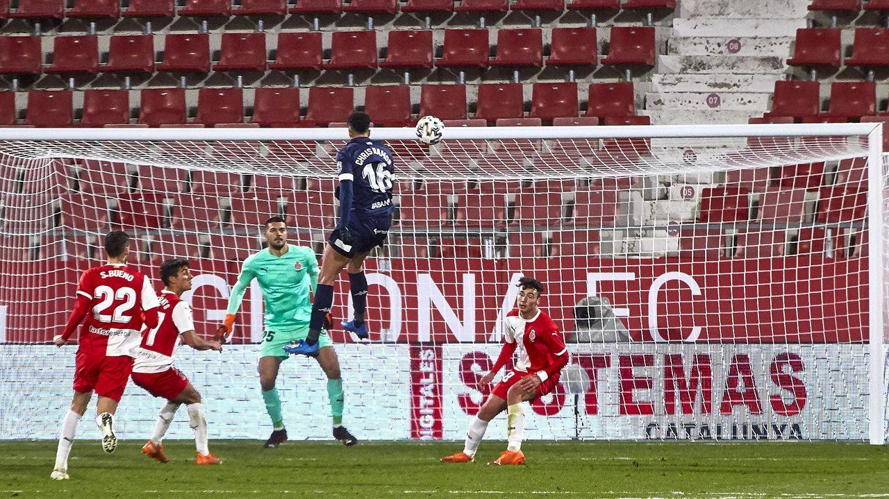 Guille Bernabeu Fran Alvarez Valladolid Promesas Vetusta Zorrilla.Dani Sandoval celebra un gol con el Vetusta