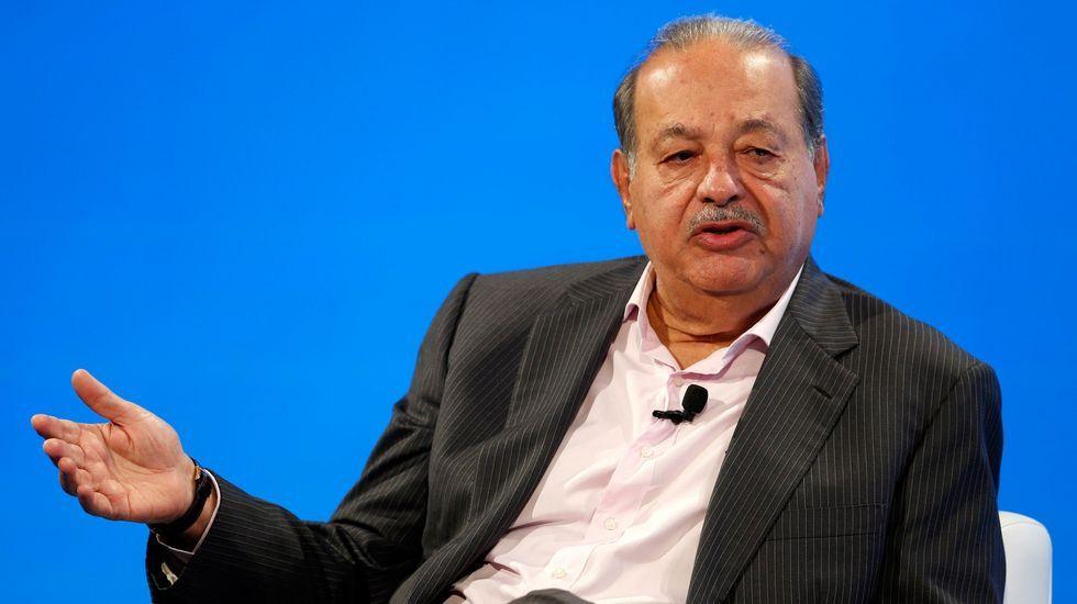 El empresario mexicano Carlos Slim posee una fortuna valorada en 72.000 millones de dólares (64.133 millones de euros).