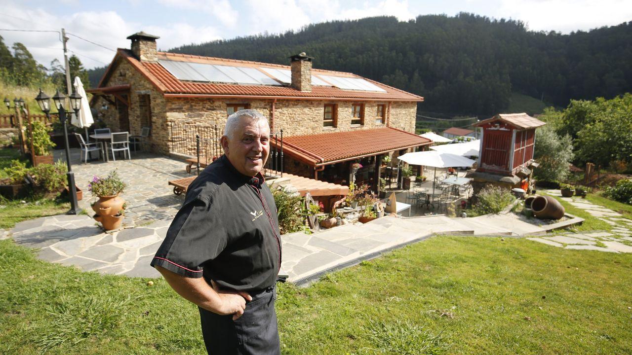 José Picallo, de A Casa do Morcego, en Valdoviño, es el presidente de la nueva entidad