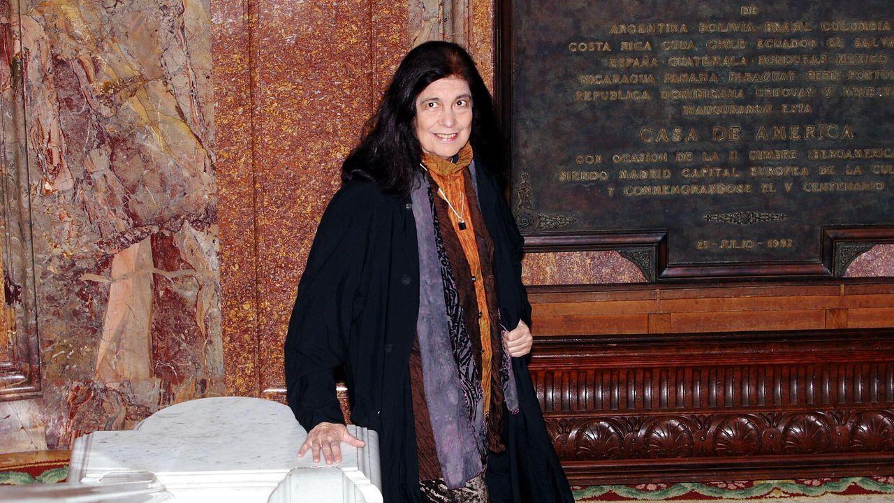 Susan Sontag en el 2003