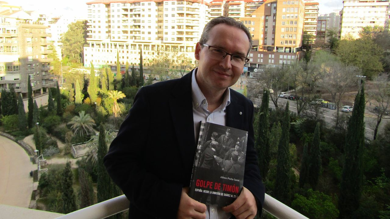 El historiador Alfonso Pinilla