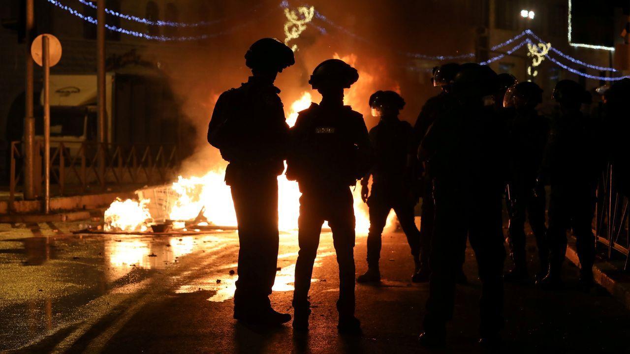 Barricadas en Jerusalén