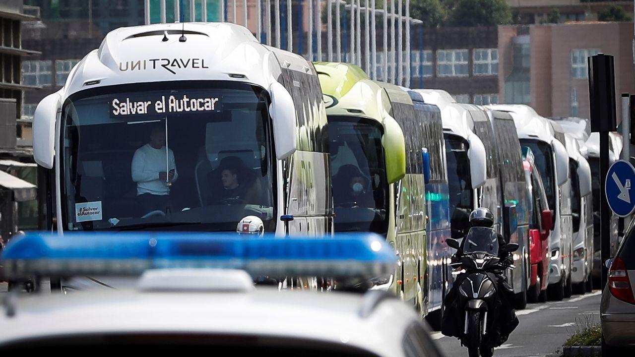 Protestas de autobuses el miércoles en San Sebastián