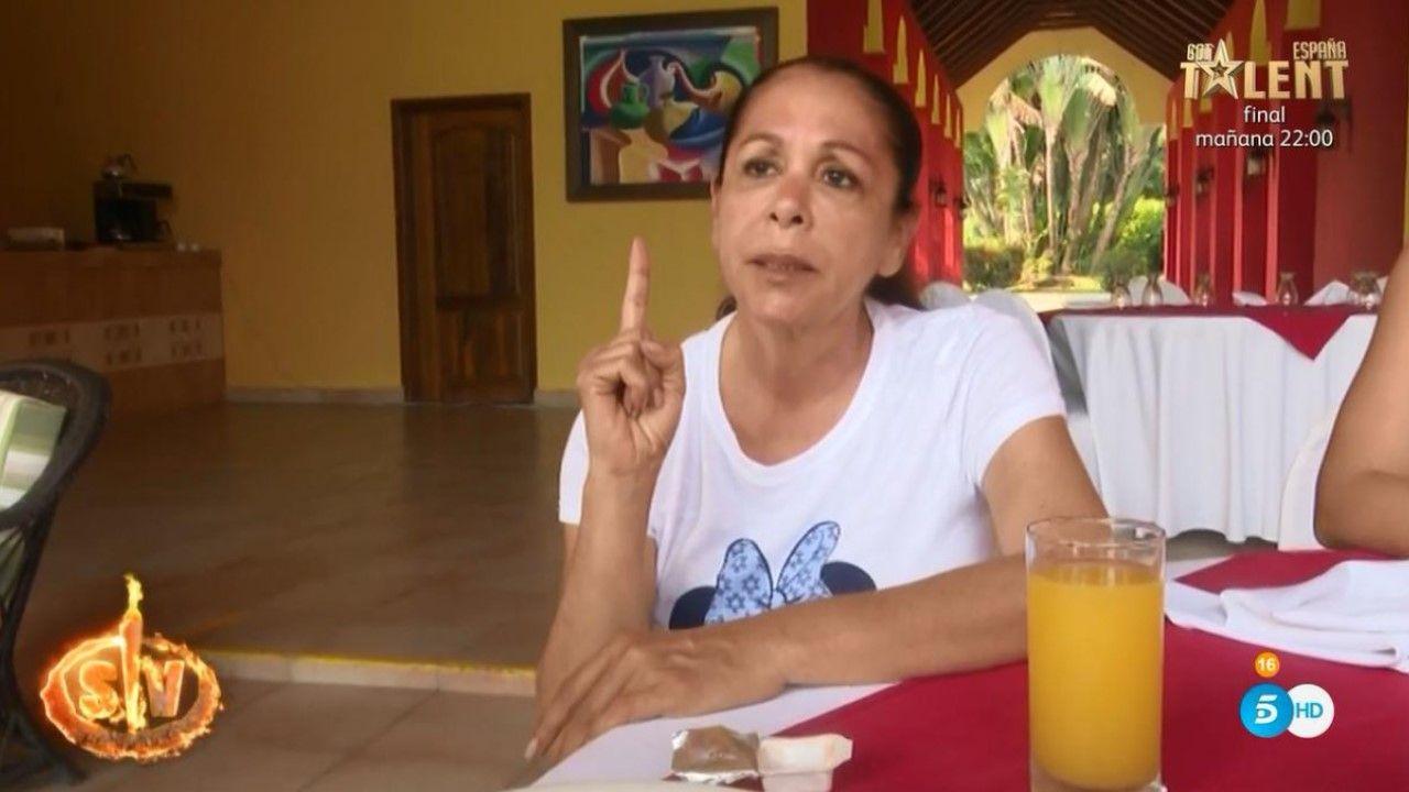Lara Álvarez en Supervivientes