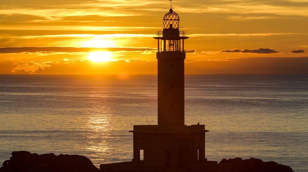 Puesta de sol desde Nariga (Malpica)