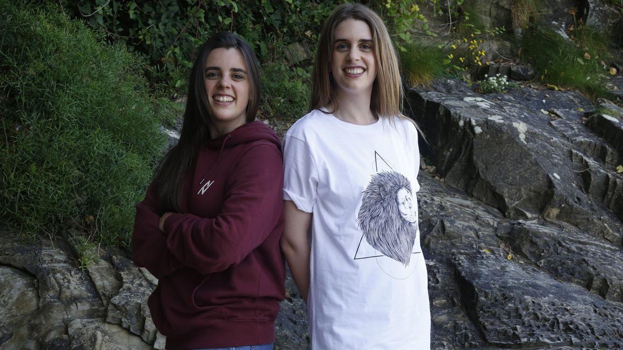 La AC-12 comienza a perder carriles por las obras en el cruce del Sol y Mar.Diana y Paloma González Brandariz, de Sada, crean una marca de ropa sostenible.