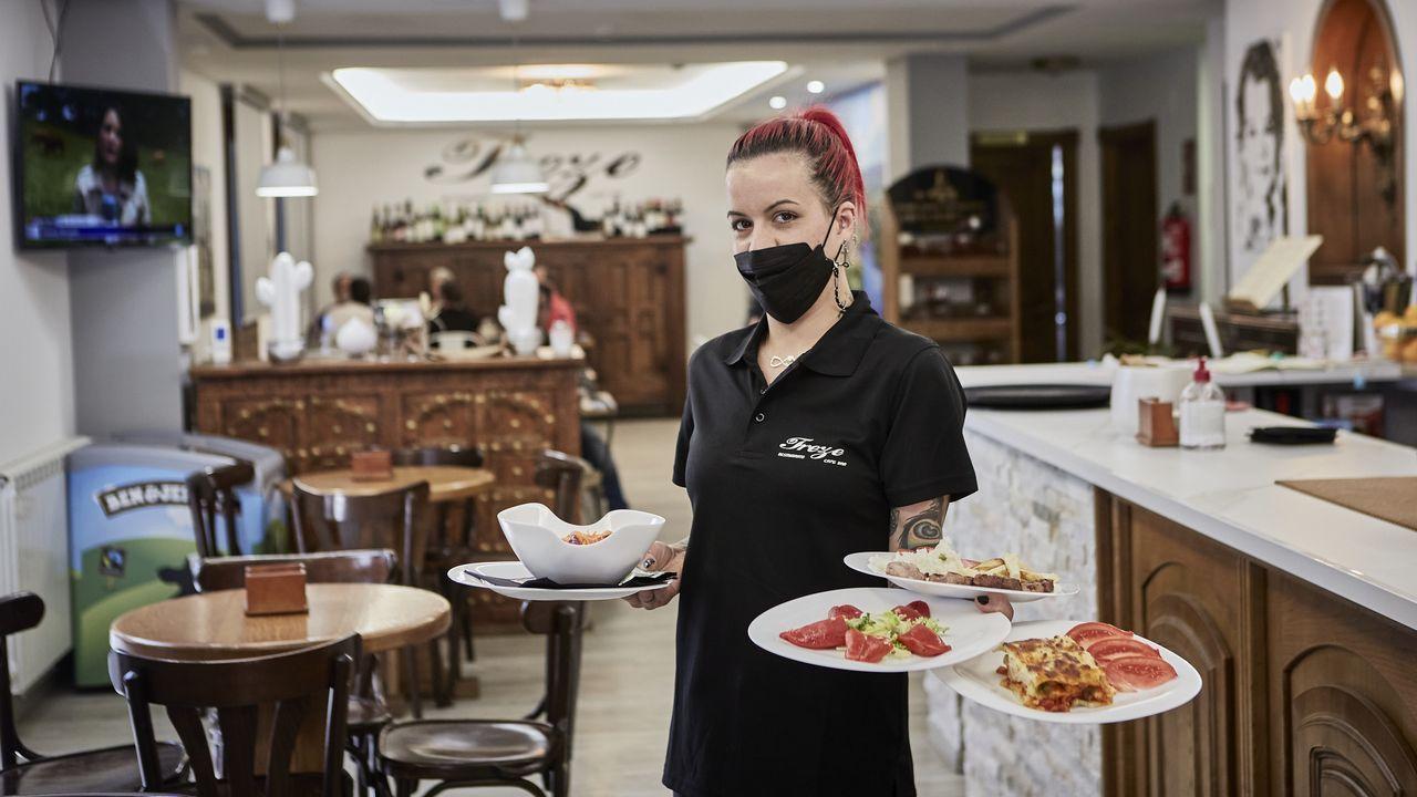 Andrea Prieto es la propietaria del restaurante Treze