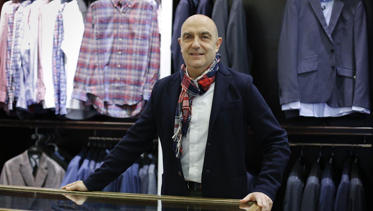 José Antonio Chacón, responsable de la tienda 14 OZ