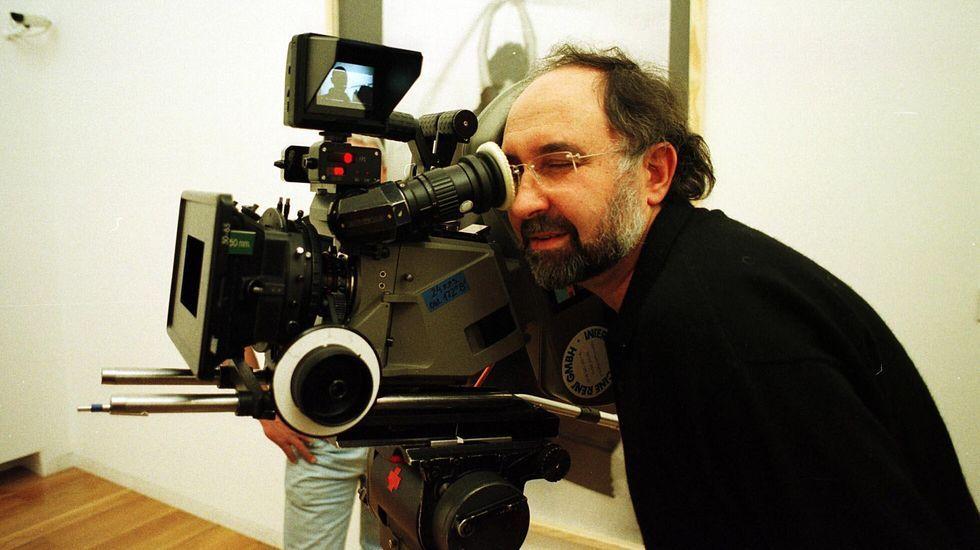 Uno de los cortos proyectados era de Eloy Lozano
