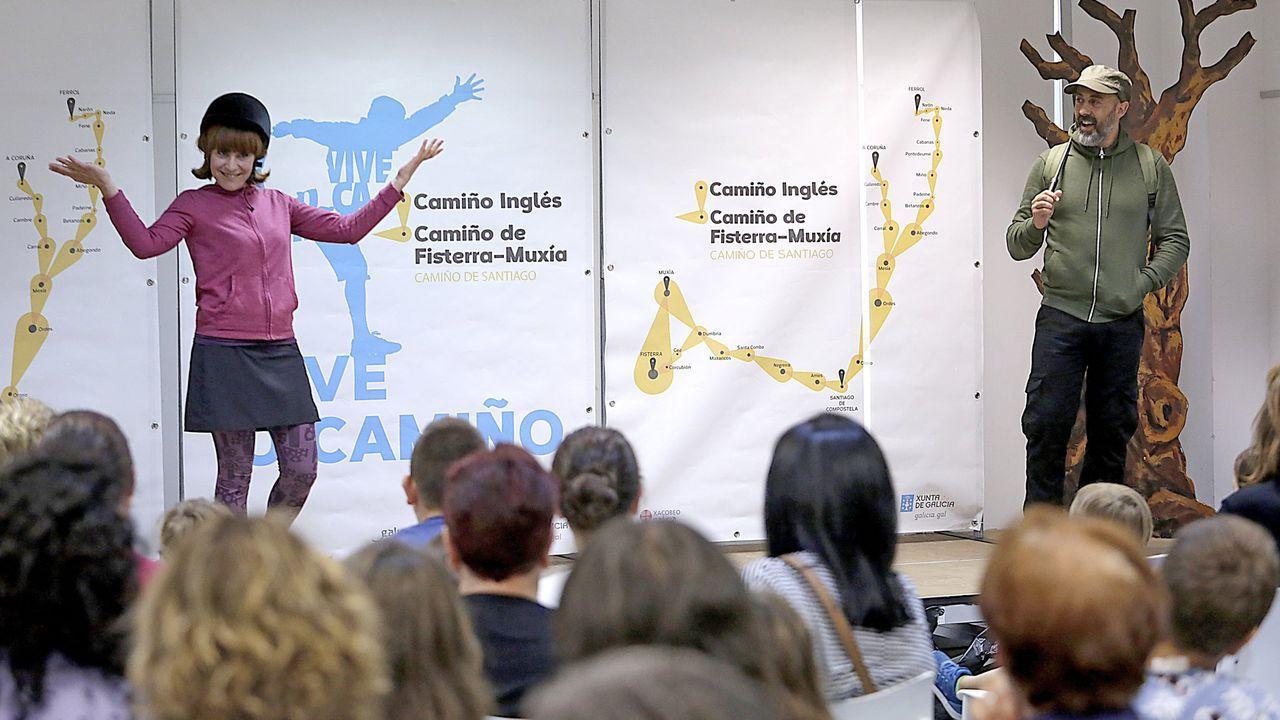 Entre Ortigueira (en la imagen) y Ribadeo solo circula un tren diario en cada sentido desde hace casi uno año