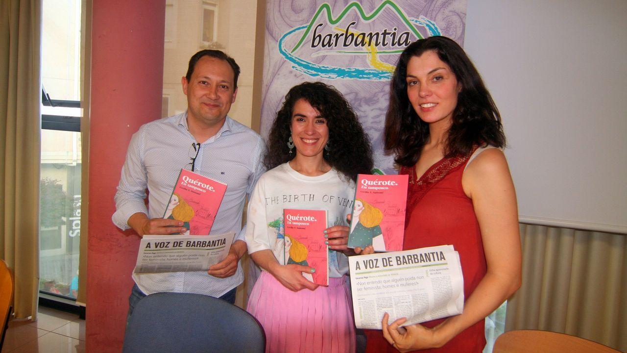 Presentación del libro de José Villacís en Boiro