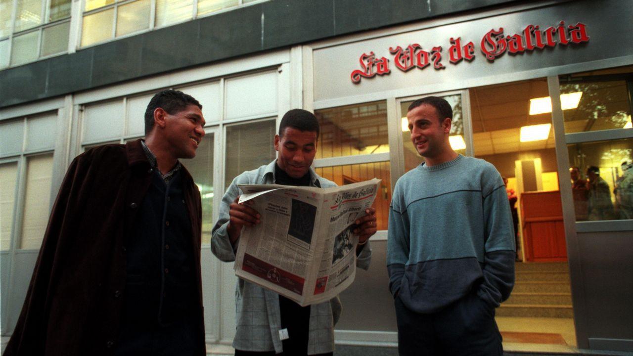Partido ante el Alavés en la primera jornada de la temporada 1999/2000 que acabaría coronando al Deportivo campeón de liga