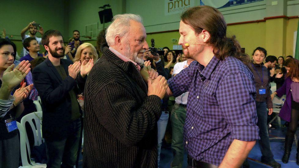Anguita e Iglesias coincidieron en un acto celebrado la pasada semana en Córdoba