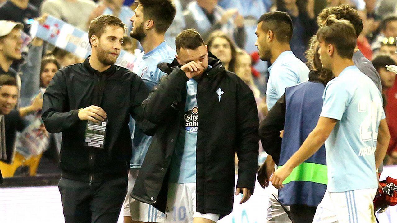 El mensaje de Hugo a la afición tras el triunfo ante el Villarreal.Santi Cazorla celebrando uno de sus dos goles al Real Madrid