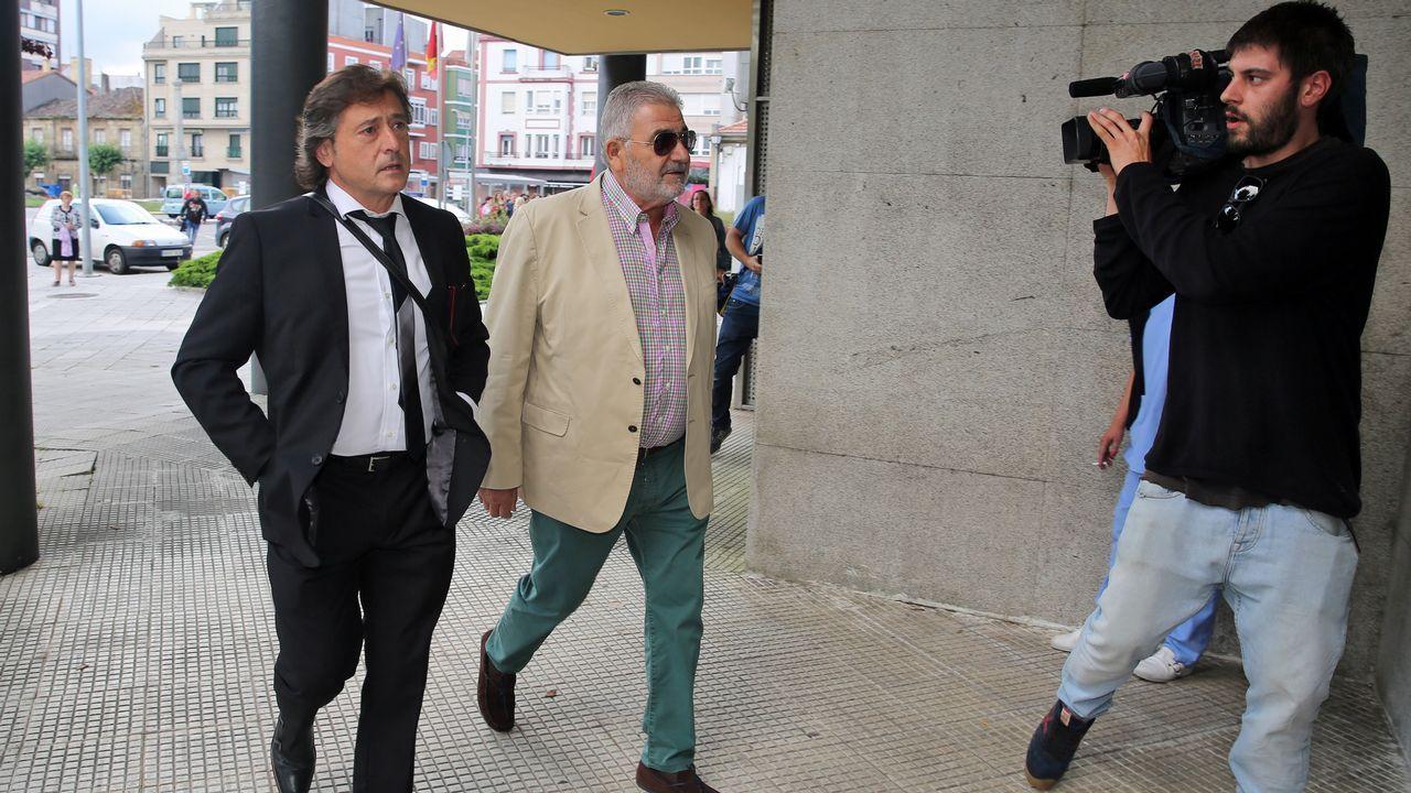 El demandante Laureano Oubiña