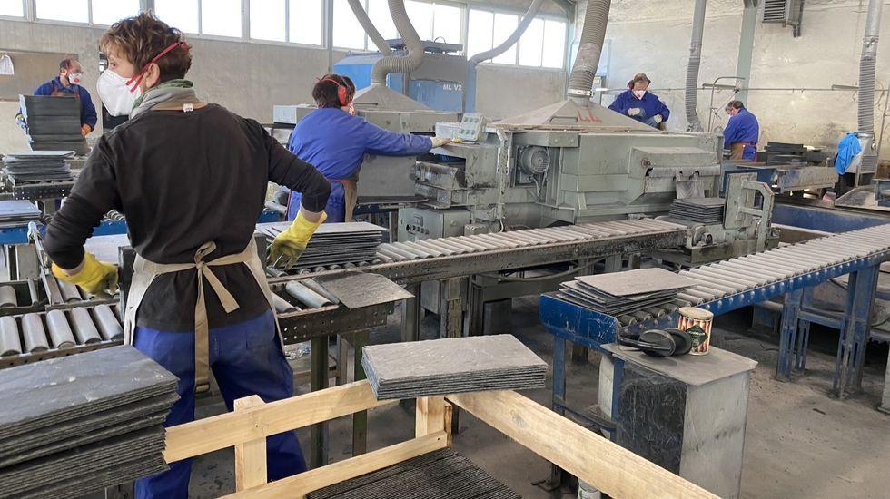 En el sector de la pizarra trabajan 2.400 personas