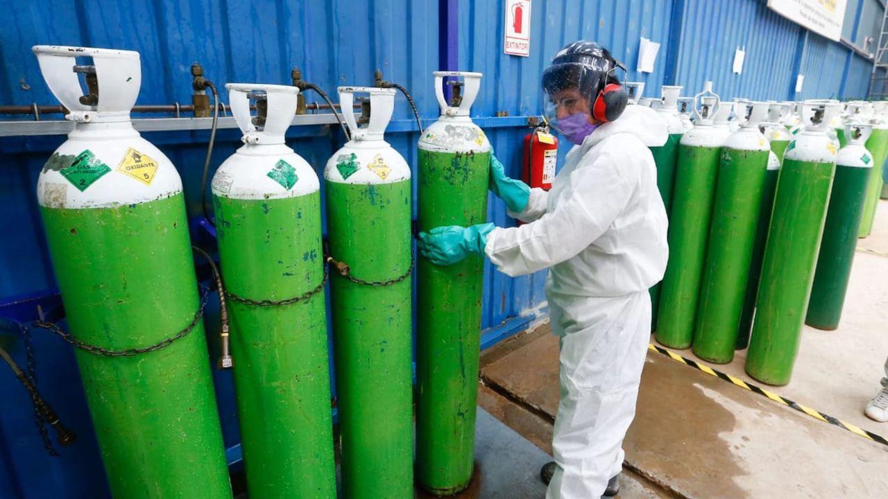 Perú ha decretado el oxígeno como bien de primera necesidad